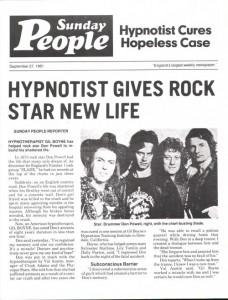 Sunday People, 27th September 2981