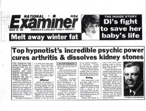 National Examiner Article, March 30th 1982